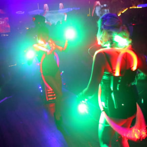 club Kostüme mit LED