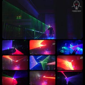 laser robot show